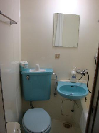Hotel Kansai: Bathroom view 1