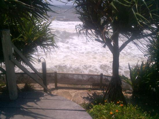 Shambhala@Byron: Sooooo close to the ocean