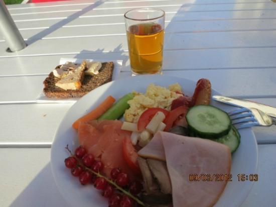 Hotel Kirstine: 朝食