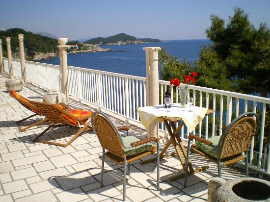 Villa Smodlaka: Sea view