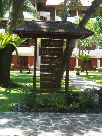 Ramada Bintang Bali Resort: Lost?