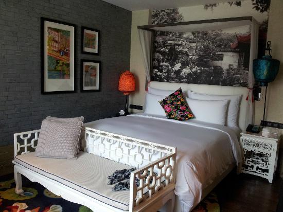 อินดิโก เซี่ยงไฮ้ ออน เดอะ บันด์: Room