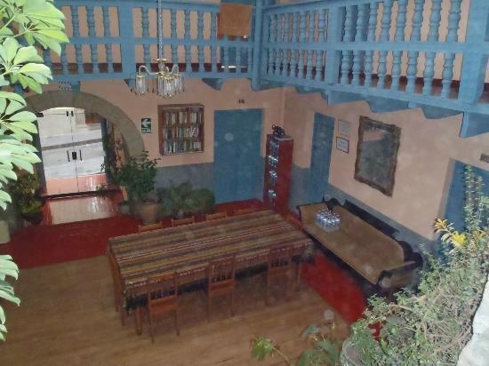 Hostal Suecia I : Salle à manger