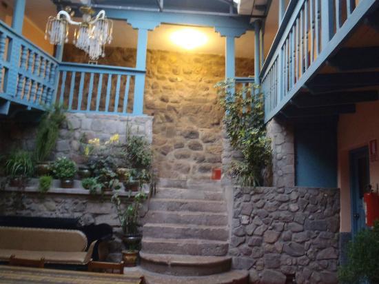 Hostal Suecia I: Escalier