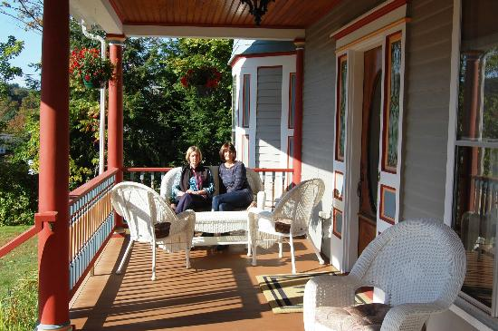 Henry Whipple House: Front Veranda