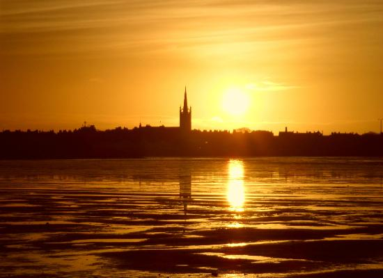 Montrose Basin Visitor Centre: Sunrise Over Montrose Basin