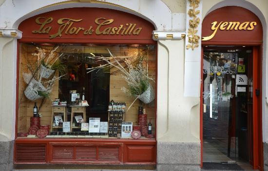 La Flor de Castilla 1860: Tienda céntrica