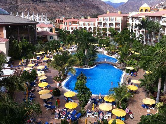 Cordial Mogan Playa: Vue depuis notre chambre