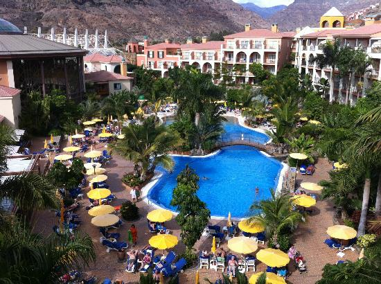 Cordial Mogán Playa: Vue depuis notre chambre