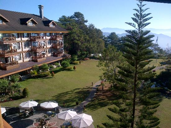 The Manor at Camp John Hay: Garden view from the center rooms.