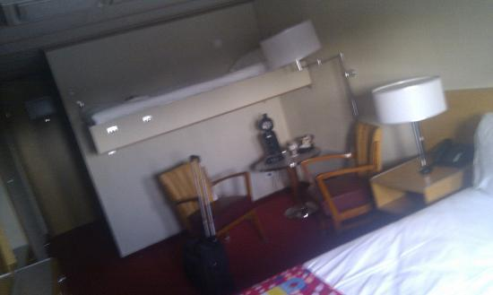 SS Rotterdam: Cabin