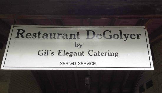 Restaurant DeGolyer