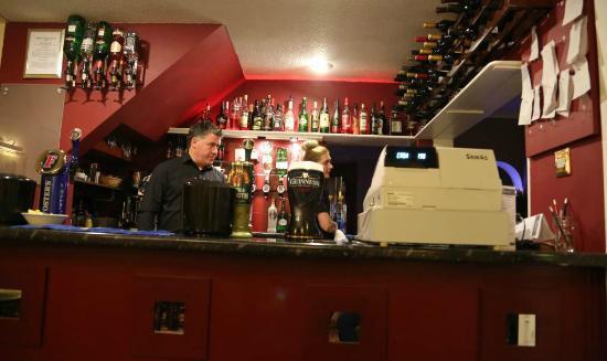 Abbey Grange Hotel: at the bar