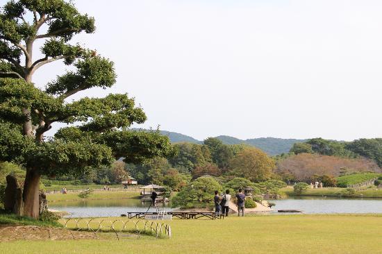 Okayama, Japan: jardim