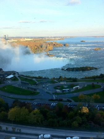 Niagara Falls Marriott on the Falls: Falls view from the 22nd floor