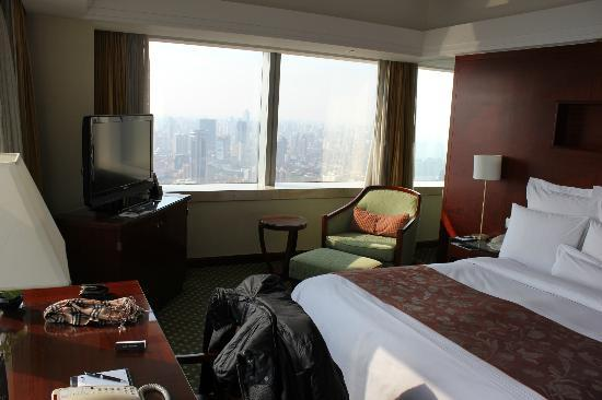 JW Marriott Hotel Shanghai at Tomorrow Square: Room 48th floor