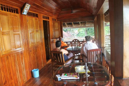 Malayalam Lake Resort Homestay: Private terrace