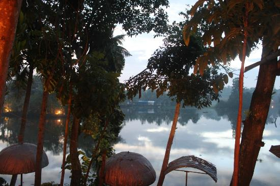 Malayalam Lake Resort Homestay: View from the private terrace
