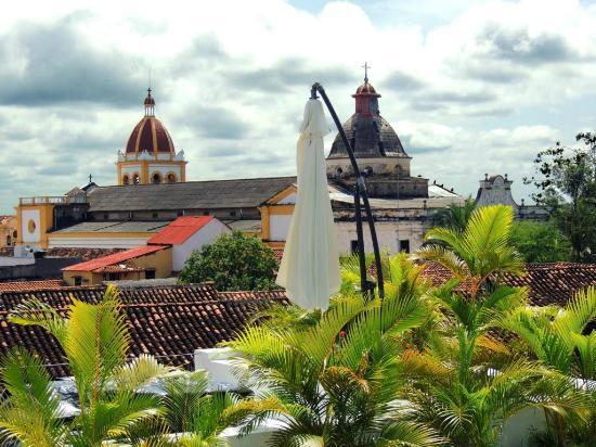 Bioma Boutique Hotel Mompox: View from roof-top terrace