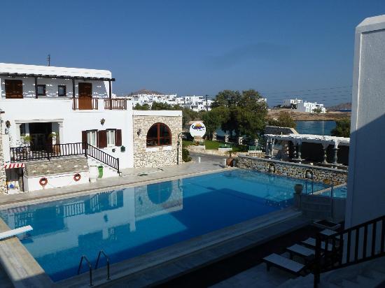 Contaratos Beach Hotel: Blick von Oben