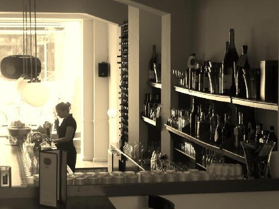 Cafe-Restaurant Rodin : bar