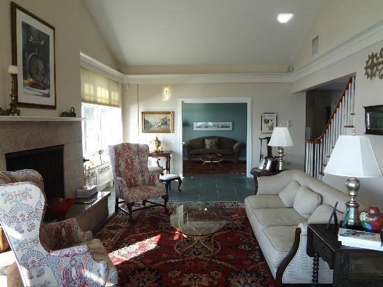 Thimble Islands Bed & Breakfast: Wohnzimmer