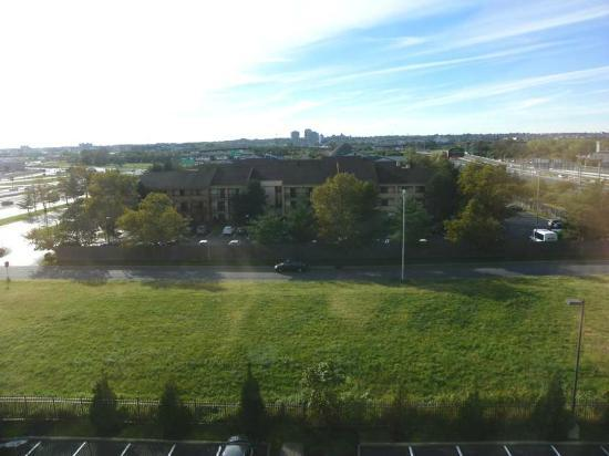 Fairfield Inn & Suites Newark Liberty International Airport : this is about as good a view as you'll get