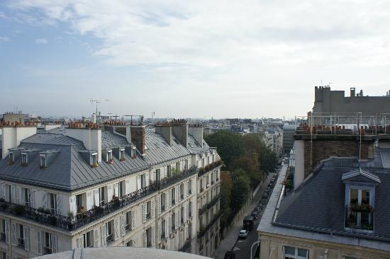 vista do quarto picture of champs elysees plaza hotel paris tripadvisor. Black Bedroom Furniture Sets. Home Design Ideas