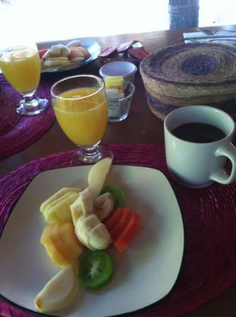 Mestizo Hotel Boutique: continental breakfast
