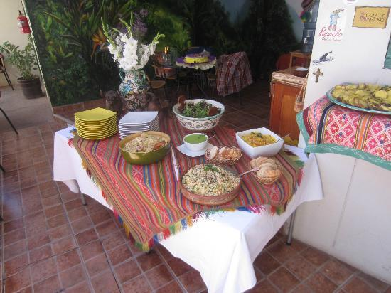La Yerbateria : Part of the buffet spread