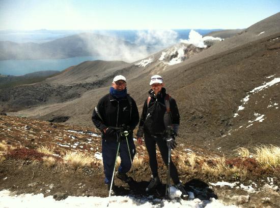 Walking Legends: Tongariro Alpine Crossing - back side