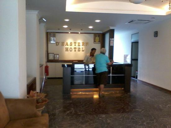 D Eastern Hotel: D'Eastern Hotel Lobby