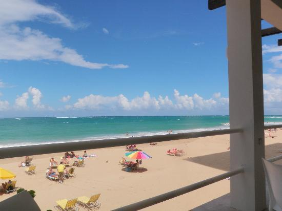 View Of The Part Condado Beach From Atlantic Hotel