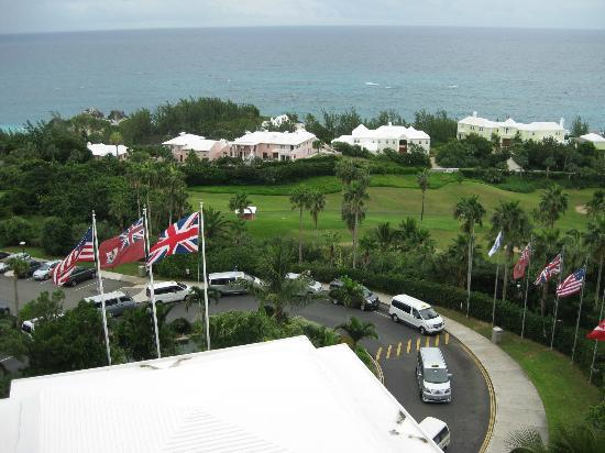 Fairmont Southampton: The view from our balcony.