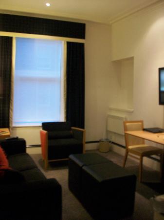 Skene House Rosemount: living area