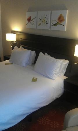 Hilton Garden Inn Leiden: Crisp sheets