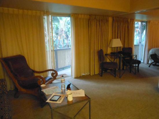Humphreys Half Moon Inn: living area