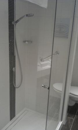 Hilton Garden Inn Leiden: Walk in shower