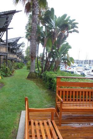 Humphreys Half Moon Inn: Marina Sitting Area