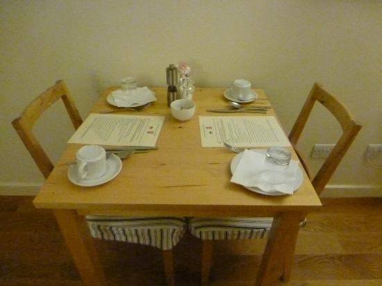 Bootham Gardens Guesthouse: Breakfast room