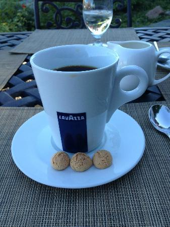 Terrafina Restaurant : Perfect right down to the coffee at the end of the meal