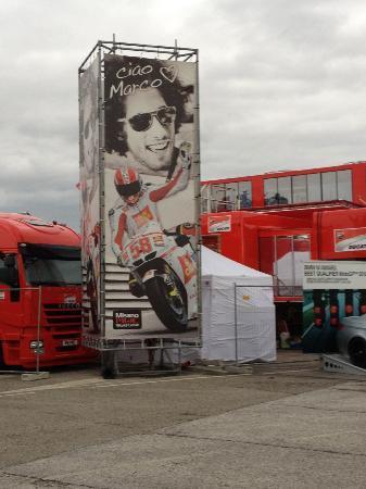 Misano Circuit : Ciao Marco