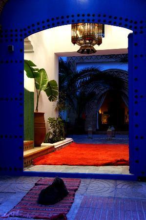 Riad Dar L'Oussia : Entrance
