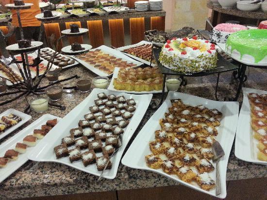 Tas Saray Hotel: Dolci dolci dolci!!!