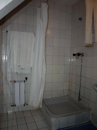 Hotel Fortuna: Bathroom full of mould