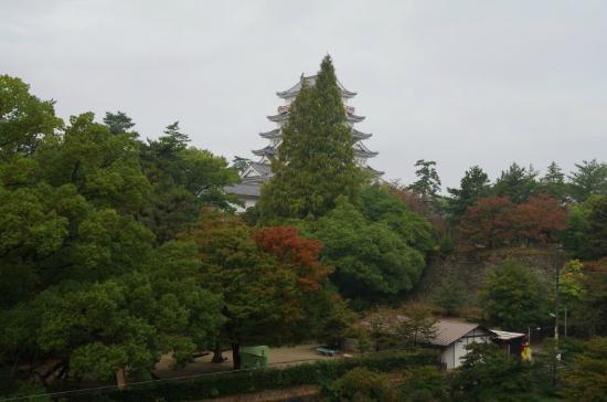 Vessel Inn Fukuyamaeki Kitaguchi: castle view