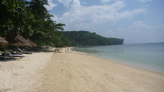 Easy Diving and Beach Resort: Strand
