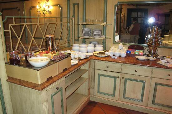 Hotel Erbgericht Buntes Haus: Breakfast Area