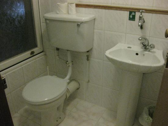 Carlton Hotel London : 客室のトイレ