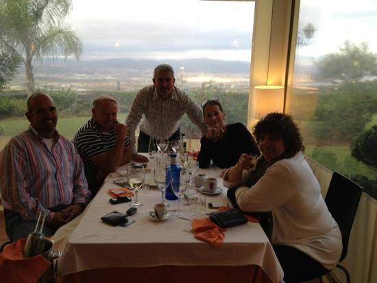 Restaurante Mirador de la Peana: primera vez
